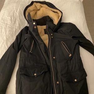 ZARA Trafaluc Outerwear Black Jacket